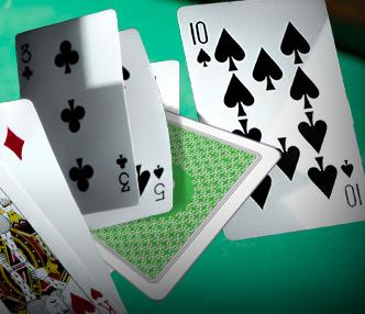 10 i spader kort
