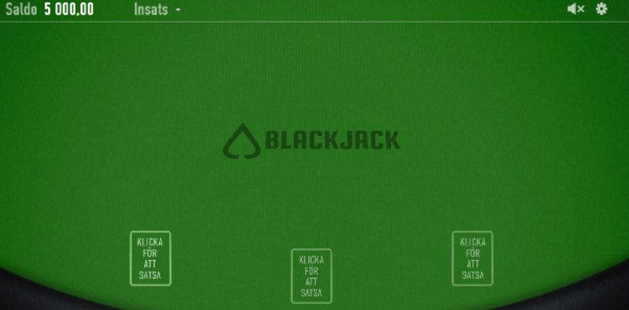 spela blackjack flash