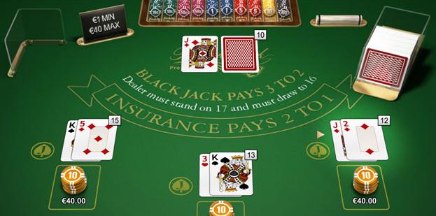 spela blackjack pro series